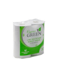 Caprice Green Recycled Toilet Rolls