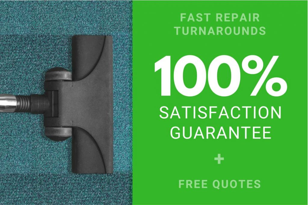 100% Satisfaction Guarantee Vacuum