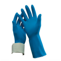Oates Flock Lined Rubber Gloves
