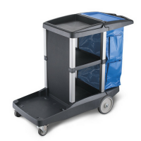 Oates Platinum Janitors Cart