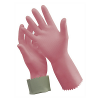 Oates Silver Lined Rubber Gloves