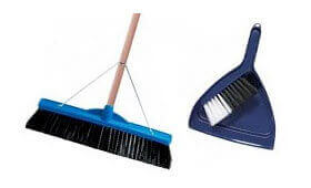 Commercial Cleaning Brooms & Dustpans